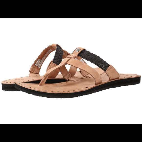 a6214e5a2586 UGG Leather Thong Sandals